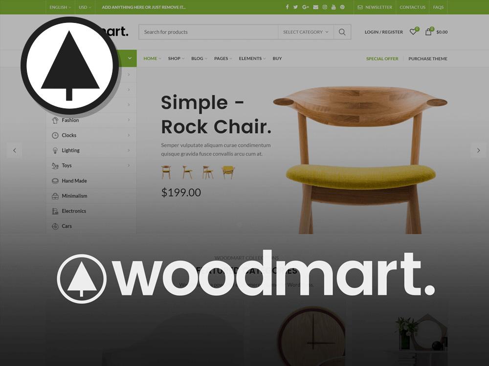 قالب فروشگاهی وودمارت + آموزش و نصب و تنظیمات | WoodMart